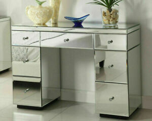 Mirrored Furniture Glass Dressing Table Bedroom Console bevelled VENETIAN- SALE