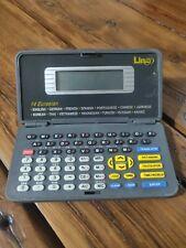 Lingo 14 Multi-Language Eurasian Translator Handheld Pocket Databank