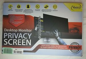 VINTEZ Desktop Monitor Privacy Screen Filter and eye protector 23-24 inch
