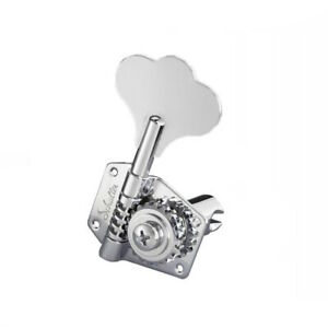 Schaller Basse Machine Têtes Chrome - 2 Gauche + 2 Droit 10250203.26.71