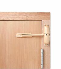 Sterling Light Wood  Spring Door Closer - Boxed