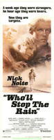 WHO'LL STOP THE RAIN MOVIE POSTER NICK NOLTE 1978