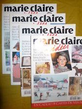 Lot de 4 revues Marie Claire Idées année 2000 n° 36/37/38/39