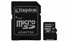 KINGSTON Micro SDHC/Micro SDXC Class 10 UHS-I Memory Card Micro SD 128GB