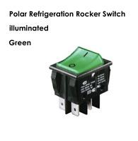 Polar Refrigeration Main Rocker On-Off Switch 16A illuminated Fridge Freezer