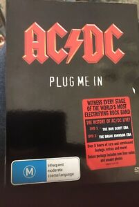 ACDC Plug Me In DVD