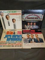 JERRY MURAD'S HARMONICATS GREATEST HITS Lot Of 4 LP Vinyl Records DEMO!!! 33rpm