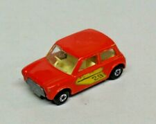 Matchbox Lesney Racing Mini No. 29 Red Diecast 1970 England Mini Cooper