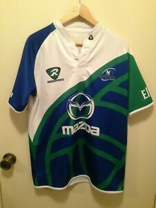 CONNACHT RUGBY Rugbytech Away Rugby Union Jersey Shirt - Size L (g)