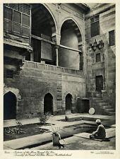 Photo Argentique Lehnert et Landrock Le Caire Egypte Vers 1920/30