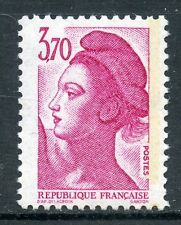 STAMP / TIMBRE FRANCE NEUF N° 2486a ** TYPE LIBERTE 1 bande phosphore à droite