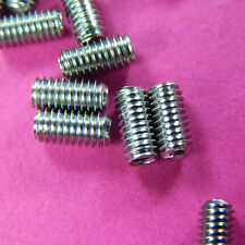 50 of M4 Grub screws 8mm long cup Point