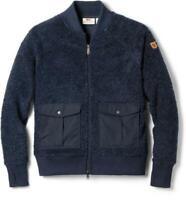 Fjallraven Greenland Pile Fleece Blue Jacket Women's Size Medium 81506