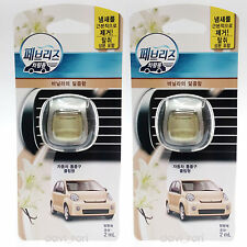 Febreze New Car Scent Vent Clips Air Freshener Sweetness Of Vanilla 2ml X 2EA