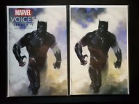 Marvel Voices Legacy #1 Dell'Otto Black Panther Virgin & Trade Set New & Unread