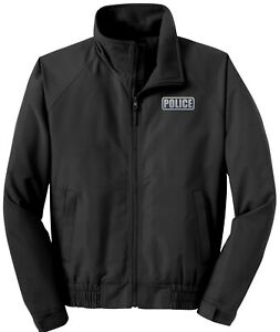 Police economy jacket, REFLECTIVE logo fleece lining, Police Charge jacket
