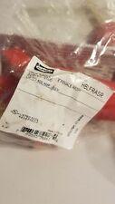 Hubbell Hblfrasr single pole female recpt. Red