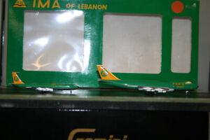 Aeroclassics/BigBird 1:400 TMA Boeing 747-100 & 707-300 OD-AGC & OD-AGO
