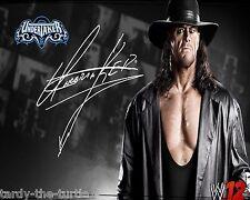 The Undertaker  8 x 10 Autograph Reprint   WWE  Superstar