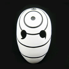White Naruto Obito Tobi Helmet Costume Mask Anime Cosplay Halloween Prop