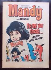 MANDY AND DEBBIE COMIC 18 JUNE 1983. UNSOLD NEWSAGENTS STOCK UNREAD VF+