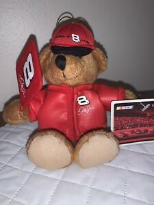 Dale Earnhardt Jr. Number 8 Nascar Ornament Plush Bear Brand New With Tags