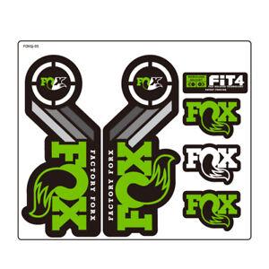 Fox Racing Shox Retro Heritage Decal Kit Fork Sticker for Bike Bicycle