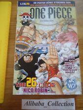 ONE PIECE LOG 26 grand format Eiichiro Oda Collection Hachette MANGA VF
