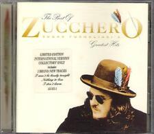 """ZUCCHERO - RARO CD IN INGLESE """" GREATEST HITS """""""