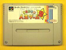 Super Jinsei Game 2 Nintendo Super Famicom Japan FREE Shipping USED