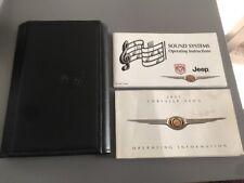 #20 CHRYSLER NEON OWNERS INSTRUCTION MANUAL HANDBOOK FOLDER BOOK PACK 2000-2005