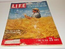 July 14, 1958 LIFE Magazine Alaska Cuba, FREE SHIPPING 7 58 13 15 16 17 12 11 18