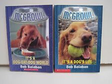 McGrowl Books by Bob Balaban, Lot of 2 Paperbacks