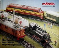Catalogo MARKLIN Export Modelle 1987-88 - DEU ENG FRA -  [TR.25]