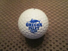 LOGO GOLF BALL-OREGON INLET FISHING CENTER...NORTH CAROLINA