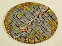 95x120mm Paved Large Oval Scenic resin base  x1