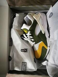 Nike Air Huarache X Stussy Olive Green UK9 Brand New BNIB