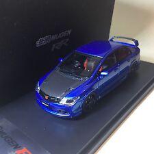 1/43 Mark CIVIC MUGEN RR 2008 FD2 TYPE-R Blue Metallic with Carbon Bonnet