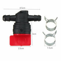 2 PCS 1/4 InLine Straight Fuel Gas Cut-Off Shut-Off Valve For accessories