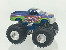 Radical Roller Maisto Diecast Monster Truck Friction Action 1998 F Series