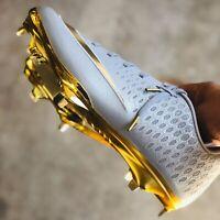 Nike Lunar Vapor Ultrafly Elite 2 'Gold N Silver' Men's Baseball Cleats Huarache