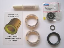 "2 QTY. .000 STANDARD HUBDOCTOR ""SUPER"" REPLACEMENT BUSHINGS FOR MAVIC FREEHUBS"
