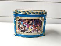 Vintage Disney Candy Tin 1985 England Mickey Mouse Minnie Donald Snow White 006