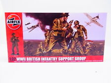 61721  Airfix A04710 WWII British Infantry support group Bausatz 1:32 NEU in OVP