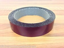 Aubergine Gloss Edging Tape, 5m x 22mm, Pre-Glued Iron On!