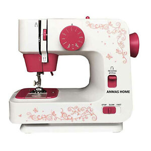 Dual Speeds Sewing Machine Electric 12 Stitches Overlock Sewing Machine ~AU