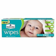 Member's Mark Premium Baby Adult Wet Wipes 1000 Ct Unscented NEW! - NO SALES TAX