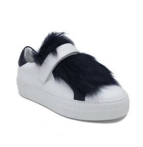 Moncler Victoire Women's Trainers Shoe Leather UK 5 EU 38 New Authentic