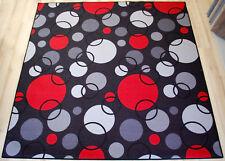 enfants Tapis Tapis de jeu CIRCLE GRIS 180x200cm cercles