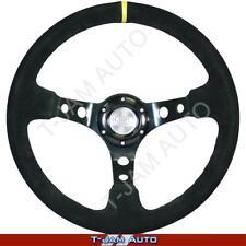 SAAS GT Sports Seude Steering Wheel 350mm Deep Dish NEW